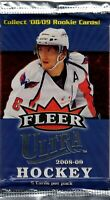 1-2008-09 FLEER ULTRA NHL JERSEY / PATCH OR AUTOGRAPH HOT PACK 100% GUARANTEED