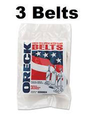 Oreck XL Upright Vacuum Cleaner Belts 0300604 3 Belts GENUINE