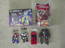 Transformers LOT Encore 03 Soundwave Optimus Prime Megatron Rodimus Iron Monger