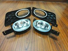 Fog Lights Clear Lens Bumper Lamps + Covers Kits For Honda Civic 2012-2013
