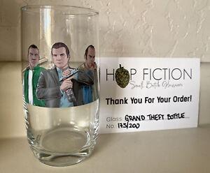 GTA V Grand Theft Auto bottle art print Beer Glass the Hop Fiction answer mondo