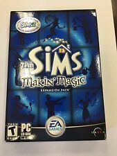 NEW Sims: Makin' Magic Expansion (PC, 2003) FACTORY SEALED