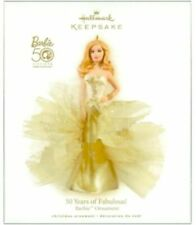 50 Years of Fabulous! Barbie 2009 Hallmark Ornament