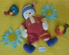 doudou clown grelot SUCRE D'ORGE