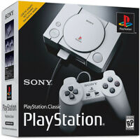 Sony PlayStation Classic Gaming Console with 20 Pre-Loaded Games & 2 Controller