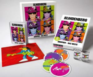 Udo Lindenberg - Udopium - Das Beste Fanbox 4 CD + 4 Likörgläser Kunstdruck NEU