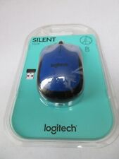 Logitech M2220 Silent Mouse New & Sealed Blue