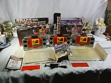 Transformers Generation One Autobot Blaster Lot Set Of Three in Box Mib