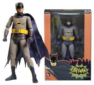 NECA 7'' Adam West Batman 1966 DC Comics Tv Series Action Figure Model Toy