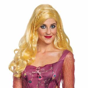 Deluxe Sarah Wig Adult Costume Accessory NEW Hocus Pocus