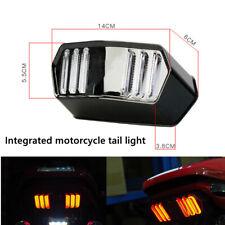 Motorcycle Universal Brake Red Lamp LED Dirt Bike Stop Running Tail Light Part