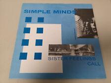 "SIMPLE MINDS ""SISTER FEELINGS CALL"" ORIG FR 1981"