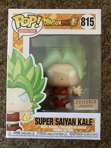 Funko Pop! Dragonball Z - Gitd Super Saiyan Kale - Boxlunch Exclusive - Dented