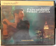 The Executioner 316 Poison Justice Mack Bolan Graphic Audio CD Don Pendleton