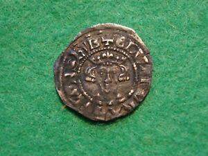 Edward III Hammered silver Penny nice detail 1327 - 1377 [SE-54)