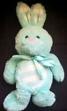 DAN DEE  BUNNY RABBIT - COLLECTORS CHOICE - Blue Turquoise Teal EASTER