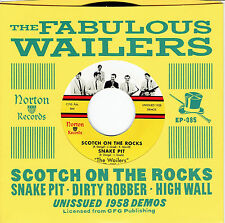 "WAILERS Scotch on Rocks 7"" NEW sonics garage etiquette mummies back from grave"