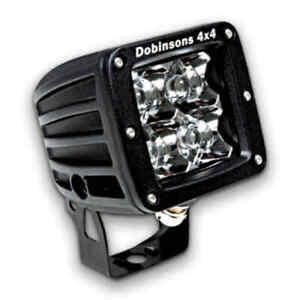 Dobinsons 16 WATT 80MM DRIVING LIGHT SPOT PLUS WIRING HARNESS
