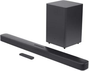 JBL Bar 2.1 Deep Bass (schwarz) Soundbar mit Subwoofer kabellos kabelgebunden