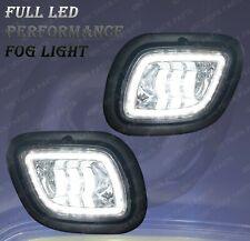QSC Full LED Fog Lights Lamps Pair w/ LED Halo for Freightliner Cascadia 08-17