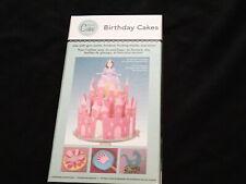 Birthday Cakes Martha Stewart font  Cricut Cartridge box booklet overlay LINKED