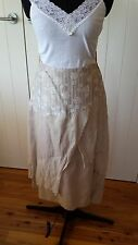 Pause Cafe Light brown skirt Made in France Size 46