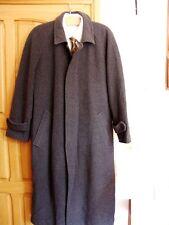 Henry Morell Herr Business Wolle Mantel Coat Trenchcoat Jacke 48-50-M topzustand