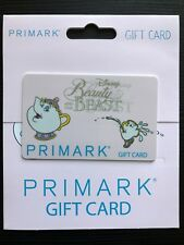 Collectible Primark Gift Card Chip Mrs Pott Disney Beauty and the Beast