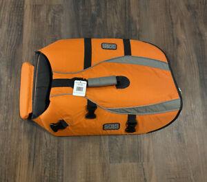 Outward Hound Dog Life Jacket Large Orange