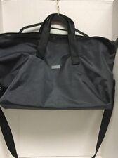 JIMMY CHOO LARGE Black /Silver Duffle  Gym Travel SPORT Overnight LUGGAGE Bag.