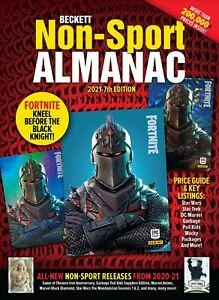 New 2021 Beckett NON-SPORTS ALMANAC Price Guide 7th Edition w/FORTNITE