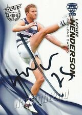 ✺Signed✺ 2016 GEELONG CATS AFL Card LACHIE HENDERSON