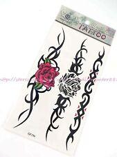 US SELLER rose tribal totem wrist band fake bracelet ankle temporary tatoo