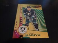 1997-98 Pacific Dynagon Hockey #3 Paul Kariya - Anaheim Ducks - EX-MT