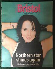Rare! Melanie C Bristol Post Magazine April 24 2003