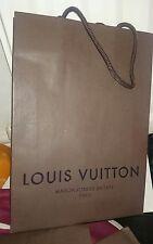 Louis vuitton empty shopping bag 20cmx28cmx6cn