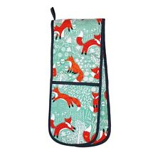 Foraging Fox Double Oven Glove by Ulster Weavers