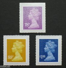 2013 NEW TARIFF - MA13 - DE LA RUE - 78p  88p  &  £1.88 SA ......  DLR