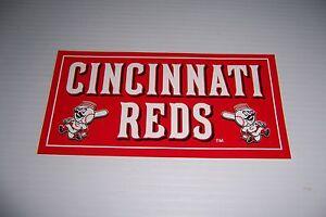 CINCINNATI REDS MLB DECAL STICKER BRAND NEW!