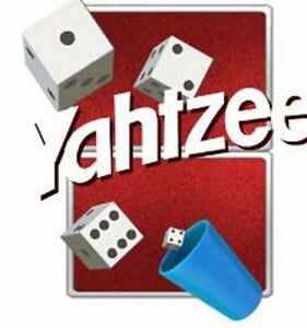 YAHTZEE DICE GAME for any WINDOWS PC (Win 10 and downwards)