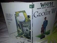 BD / LARGO WINCH TOME 2 / LE GROUPE W / FRANCQ / VAN HAMME / EO