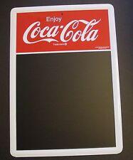 """COCA COLA Chalkboard Metal Sign LARGE 28"""" x 20"""" Enjoy Coke 1950s Retro Diner NOS"""
