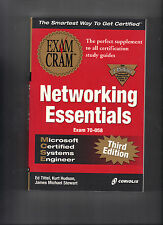 MCSE Networking Essentials Exam Cram by Ed Tittel (2000, Paperback) 1576106217