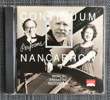 Continuum Performs Nancarrow (CD, May-1994, MusicMasters)