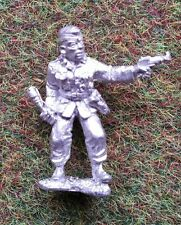 28 mm WW2 Allemand SS Fallschirmjäger Officer Panzer Command HQ Bolt Action D-Day B