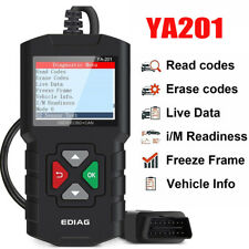 YA201 OBD2 Scanner Car Check Engine Light Fault Code Reader OBD Diagnostic Tool