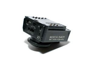 Metz Blitzadapter SCA3401 M1 Nikon analog TTL Messung SCA3000 System (sehr gut)