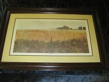 "SANDY L CLOUGH, ""SOUTHERN WINTER"" SIGNED LIMITED EDITION 184/1000 ART PRINT"