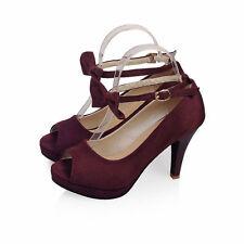 Elegant Womens Peep Toe High Heel Platform Ankel Strap Wedding Party Shoes Hot