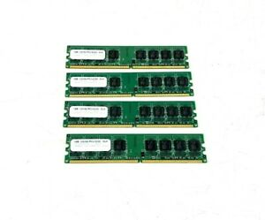 4GB(4 x 1GB)  PC2 4200  CL4 Memory for Desktop Computers